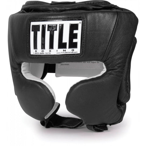 Title Masters Division USA Competition Headgear W/Cheeks - Main