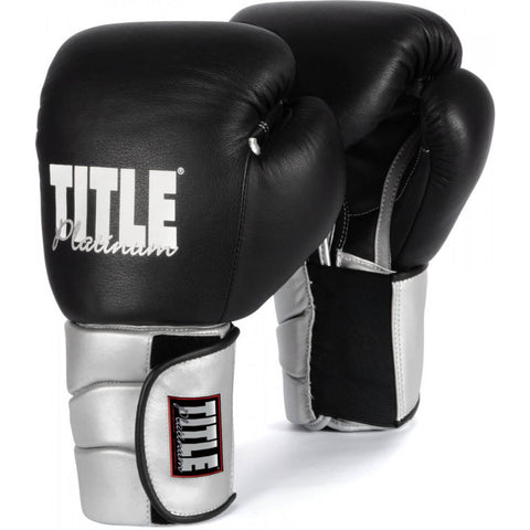 Title Platinum Elastic Training Gloves - Main