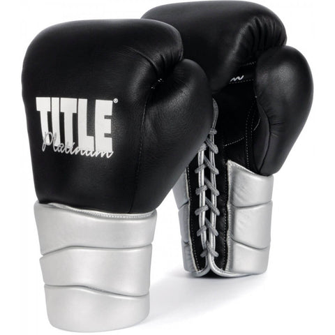 Title Platinum Lace Training Gloves - Main