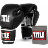 Title Platinum Training Gloves - Angle 2