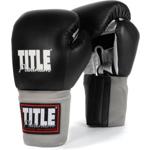 Title Platinum Training Gloves - Main