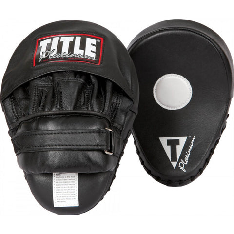 Title Platinum Curved Mitts - Main
