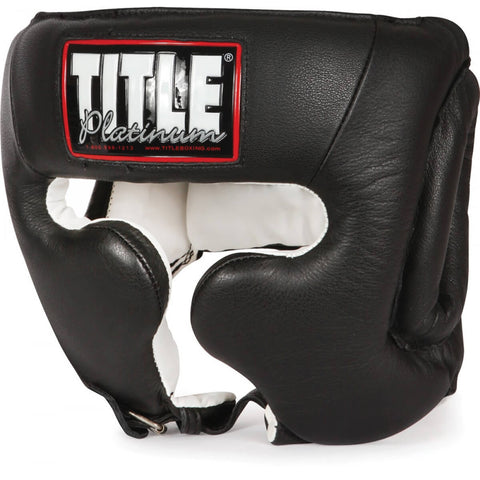 Title Platinum Training Headgear W/cheeks - Main