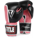 Title Platinum Ultimate Boxing Bag Gloves - Angle 2