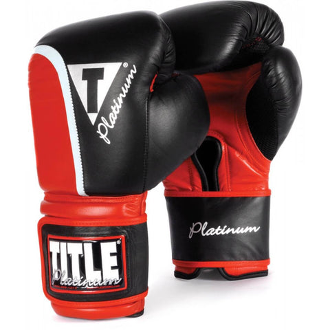 Title Platinum Ultimate Boxing Bag Gloves - Main