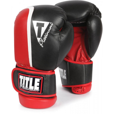 Title Platinum Ultimate Boxing Sparring Gloves - Main