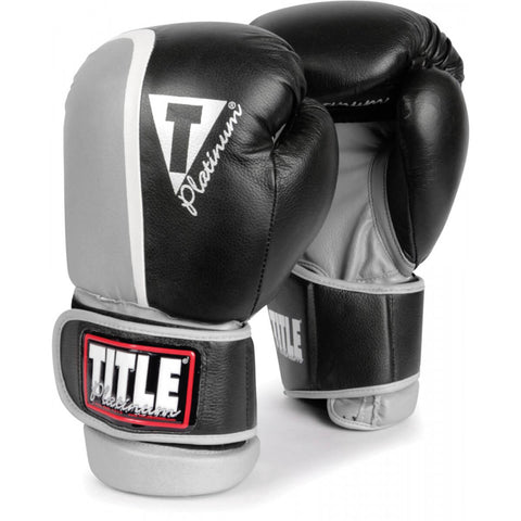 Title Platinum Ultimate Boxing Sparring Gloves - Angle 2