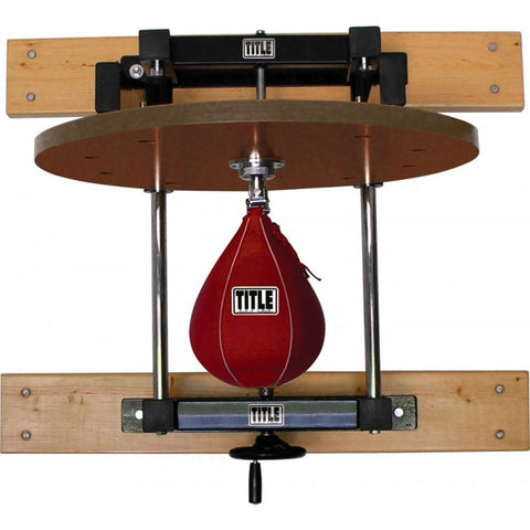 Title Adjustable Speed Bag Platform - Main