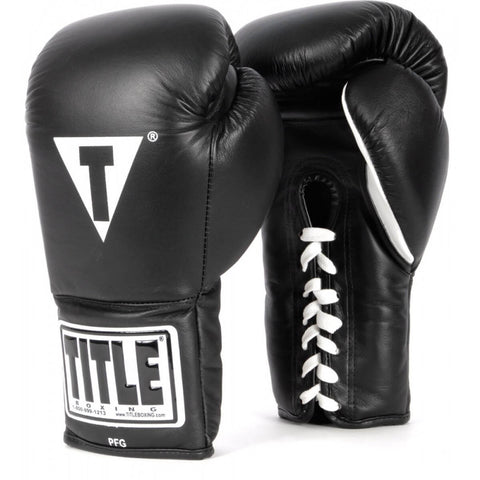 Title Professional Fight Gloves - Main