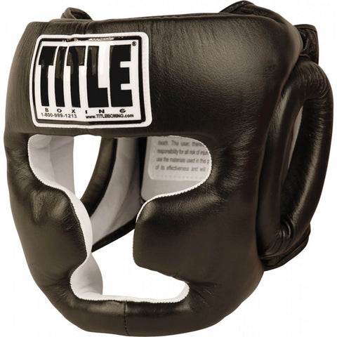Title Pro Full-Face Training Headgear - Main