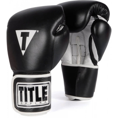 Title Leather Pro Style Training Gloves - Main