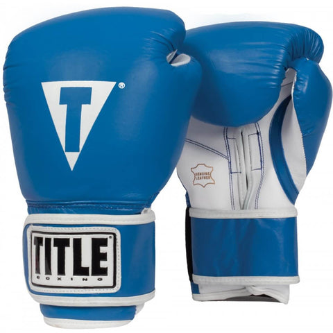 Title Leather Pro Style Training Gloves - Angle 3