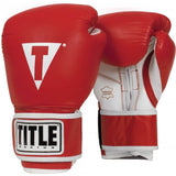 Title Leather Pro Style Training Gloves - Angle 4