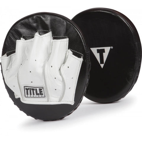 Title Razor Rounded Punch Mitts - Main