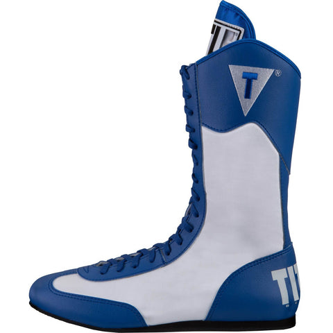 Title Youth Speed-Flex Encore Tall Boxing Boots - Angle 2