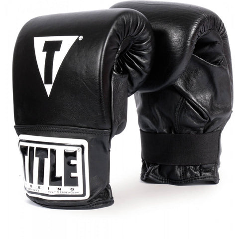 Title Pro Style Black Bag Gloves - Main