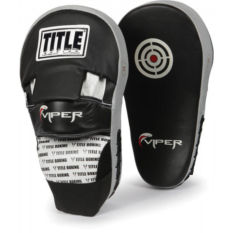 Title Viper Long Punch Mitts - Main