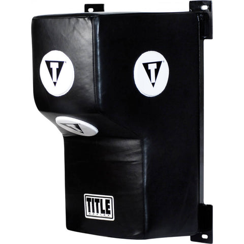 Title Wall Mount Black Heavy Bag - Main