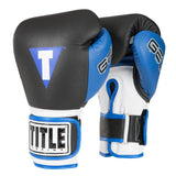Title World Boxing Bag Gloves - Angle 2