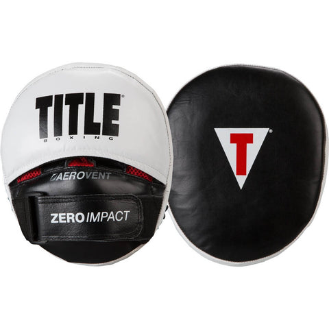 Title Zero Impact Rare Air Punch Mitts