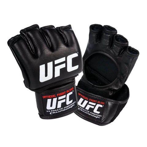 UFC Official Black Fight Gloves - Main