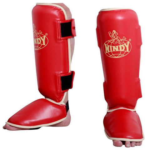 Windy Traditional Shin Guards - Main