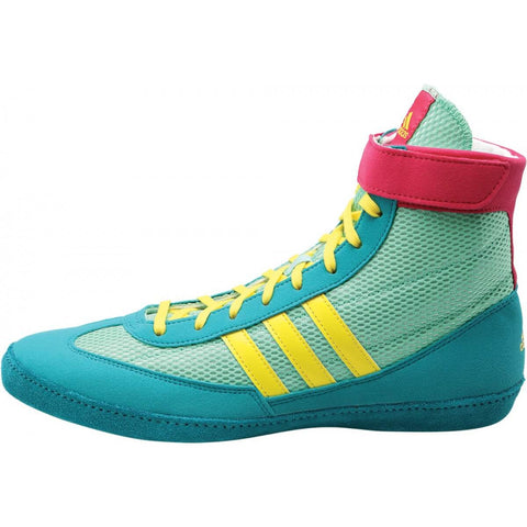 Buy Authentic Adidas Combat Speed Iv Boxing Shoes Bluelime