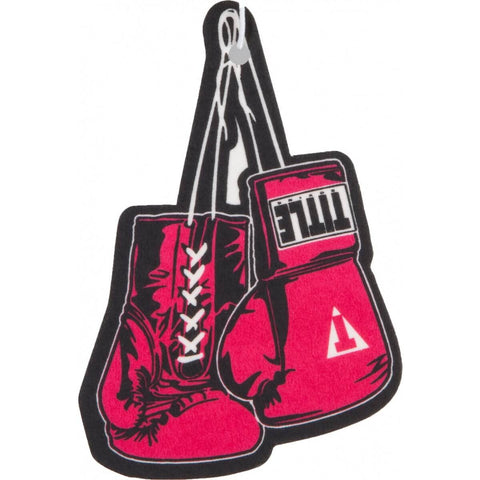 Boxing Gloves Air Freshener (Leather Scent) - Main