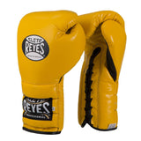 Cleto Reyes Lace Up Training Gloves - Angle 5