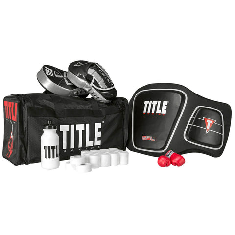 Coach'S Bundle - Mitts, Body Protector, 10 Guaze Rolls, Duffel Bag & Mini Gloves - Main