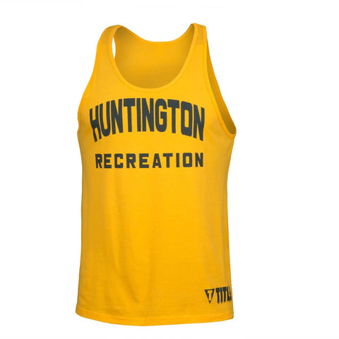 Gerry Cooney Huntington Recreation Legendary Gyms Tank Top - Main