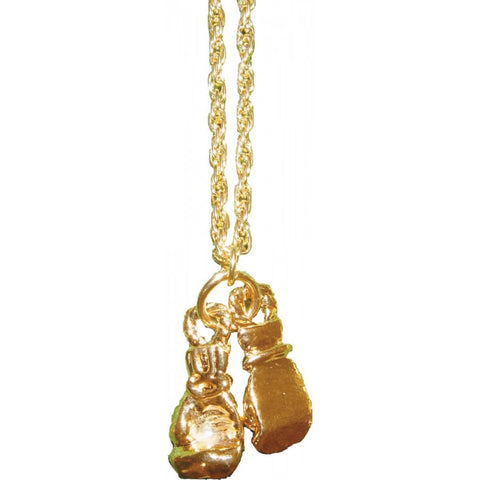 Gold Gloves Necklace - Main