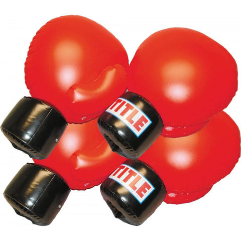 Inflatable Boxing Gloves Set - 4 Gloves - Main