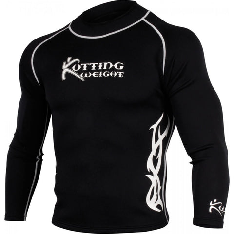 Kutting Weight Long Sleeve Black Top - Main