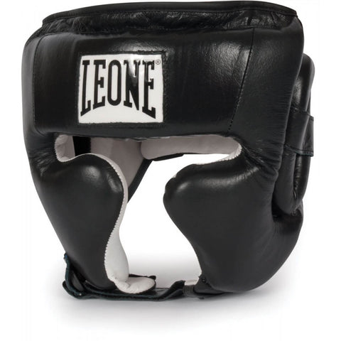 Leone Sport Black Training Headgear - Main