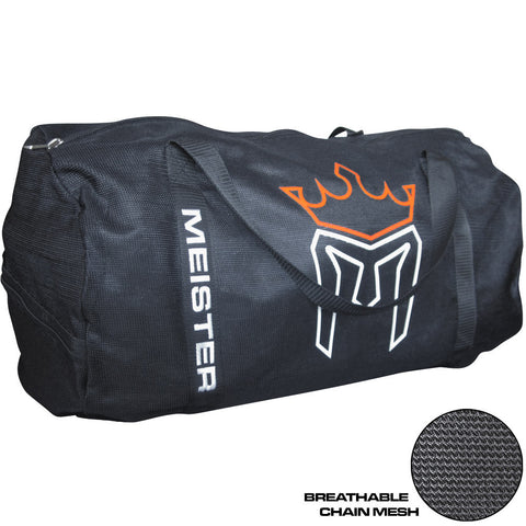 Meister Classic Chain Mesh Black Duffel Bag - Main