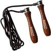 Meister Weighted Wood & Leather Jump Rope