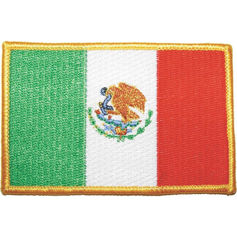 Mexico Flag Patch - Main