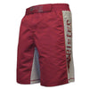 Meister Crimson Red MMA Board Fight Shorts