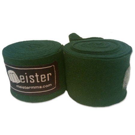 "Meister 180"" MMA Handwraps - Single Color - Angle 14"