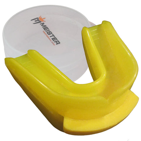 Moldable Double Mouthguard W/Case - Angle 2