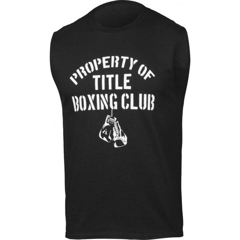 Property Of Title Boxing Club Sleeveless T-Shirt - Main