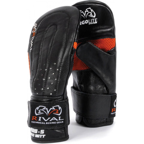 Rival Boxing Leather Bag Mitts - Main