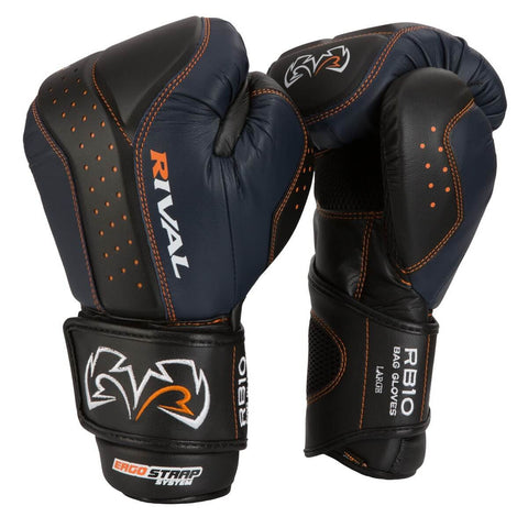 Rival Intelli-Shock Bag Gloves RB10 - Angle 2