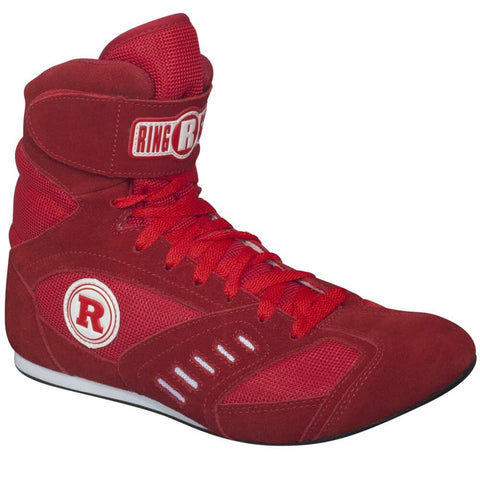 Ringside Power Boxing Boots - Angle 2