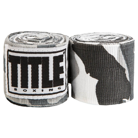 "Title Assorted Semi-Elastic Designed 180"" Hand Wraps - Main"