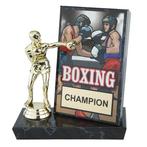 Title Billboard Plaque & Boxer Champion Award - Main