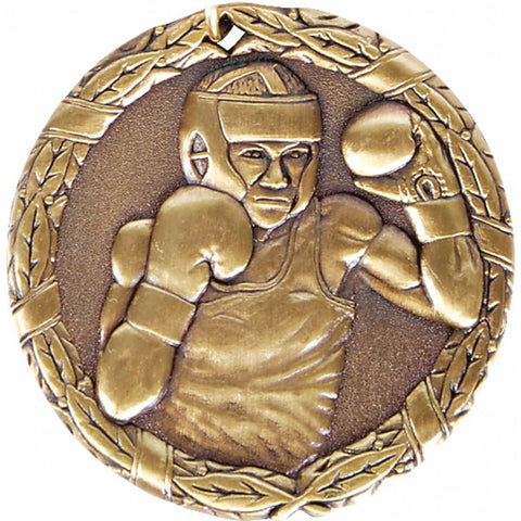 Title Boxing 2 Inch Boxer Boxing Medal Award - Main