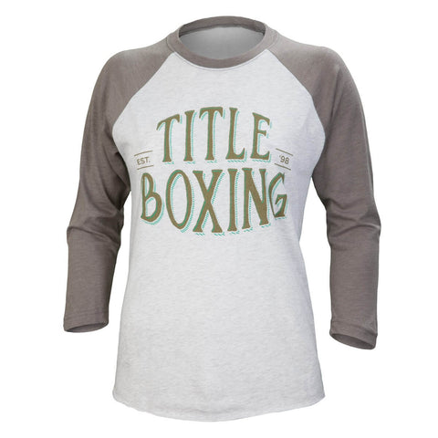 Title Boxing 3-4 Raglan Sleeve T-Shirt - Main