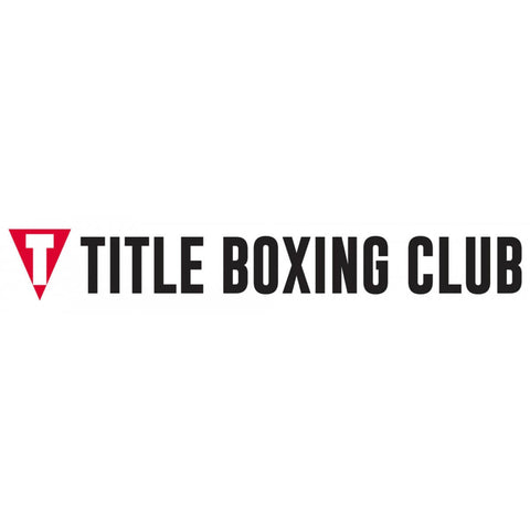 Title Boxing Black Logo Tbc Sticker Rectangle - Main